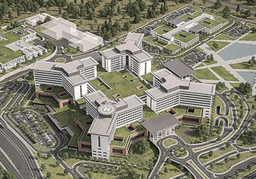 BURSA_CITY_HOSPITAL_DRAINAGE AND ROADS NETWORK DESIGN